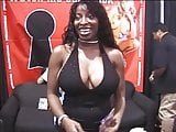 Black party girls with perfect bodies