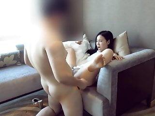 Chinese language couple resort staycation