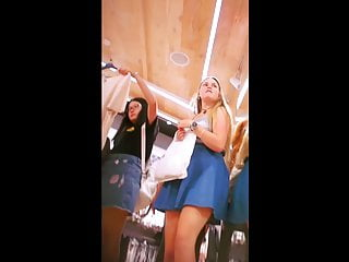 Upskirt 162 (Teens at the mall)