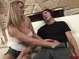Hot Divorced blonde fucks a young guy