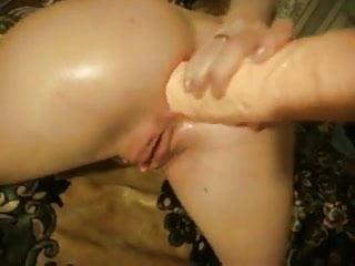 Giant dildo in russian...