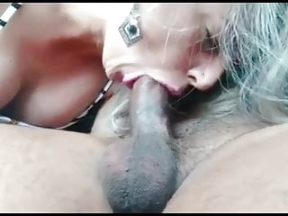 Exposed doing a blowjob...
