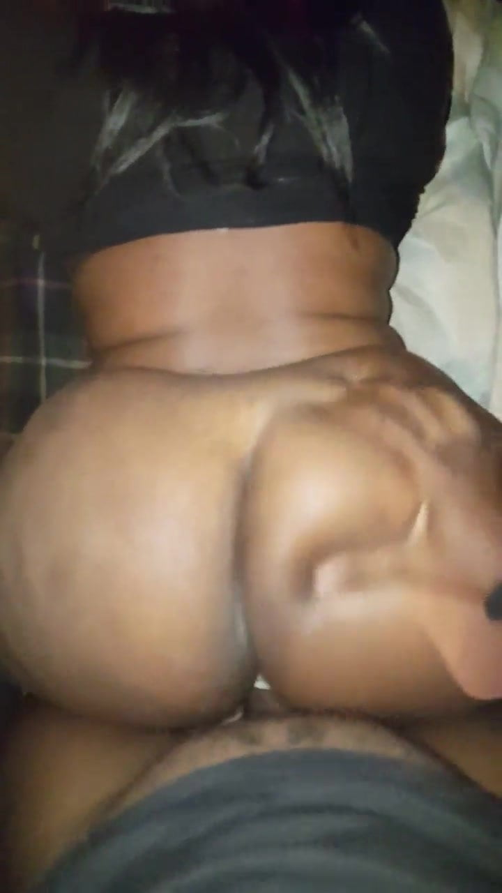 Big Ebony Booty Homemade