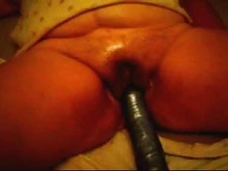 huge dildo play