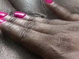 Amateur ebony cum party