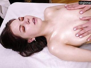 Ira Pizdunka accumulates her virgin boobs massaged