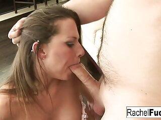 Rachel's Hot Blowjob and Facial