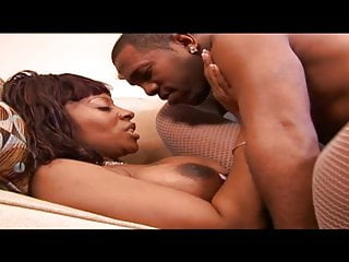 Black gives amazing head while on her knees...