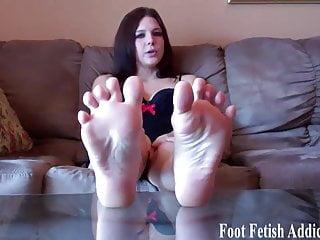 a good my feet like slave Pamper