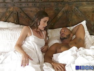 Bi black guy and babe get mouths spermed