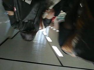 Asian Upskirt at LRT