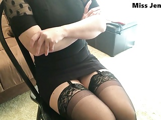 Teacher Catches You Stealing Her Stockings – POV