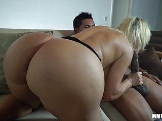 Giant Booty PAWG wins mega big cumshot on asshole