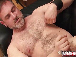 Hot daddy Kristofer W. solo jerk off cumshot  DILF