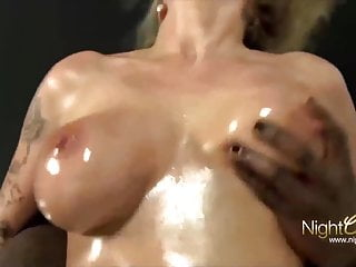 Busty Blonde Mature wife Has Fun With BBC
