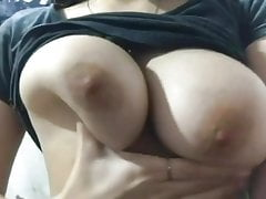 Girlfriend tits