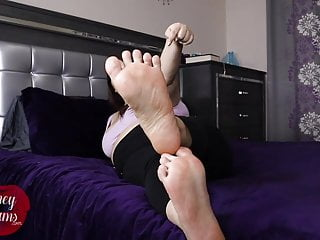 Soft, Meaty Soles Tease You - Foot Fetish POV PREVIEW