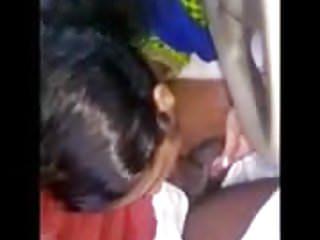 maids daughter suckiing proprietor in automobile