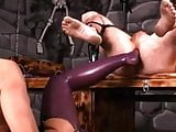 Mistress fists, and foots lucky boy