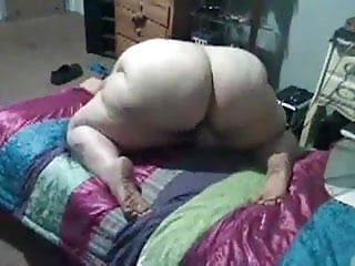 Bbw pawg masterbation from behind not mine