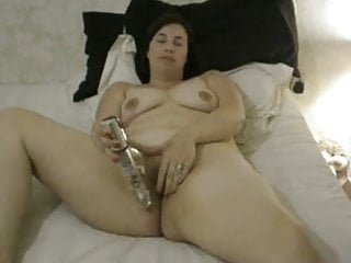 holly playing with vibrator
