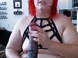 Chubby red Arsenic with huge butt just begging to be stretch