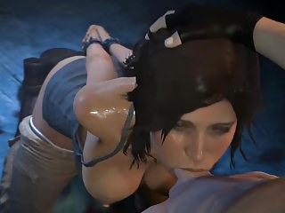 LARA BLOWJOB DEEP CROFT THROAT