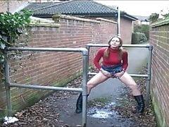Peeing Outside