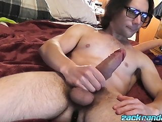 Gorgeous zack randall while butt plugged...