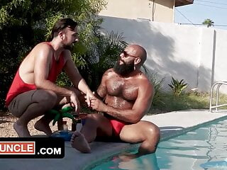 Handsome Muscular Man Gets Pounded Hard By His Friend