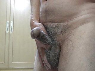 Naked Japanese cock erection.2