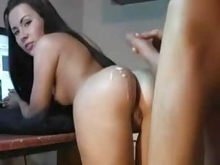 30 Seconds in her Ass is all He can take