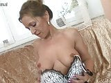 Hot mature MILF jumping teasing and pleasing