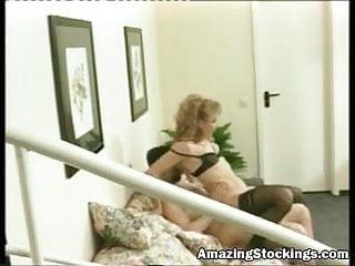 Vintage stockings sex more at amazing stockings web...