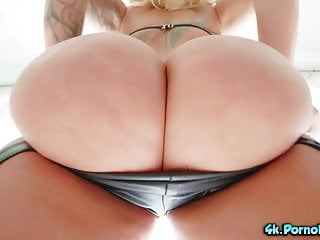 Huge titted and huge assed gets some bbc...