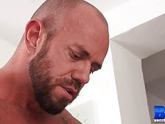 BREEDMERAW Inked Hunk Marcos Mateo Rimmed And Raw Pounded