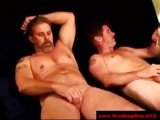 Driver sucking cock as he...