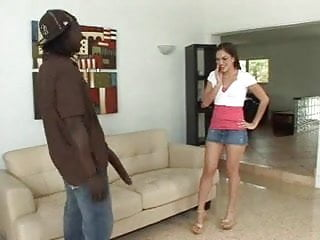 Big black fake cock fuck hard a latina with plastic cock